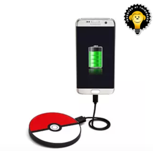 pokemon phone charger