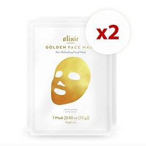 Elixir Cosmetics Golden Face Mask