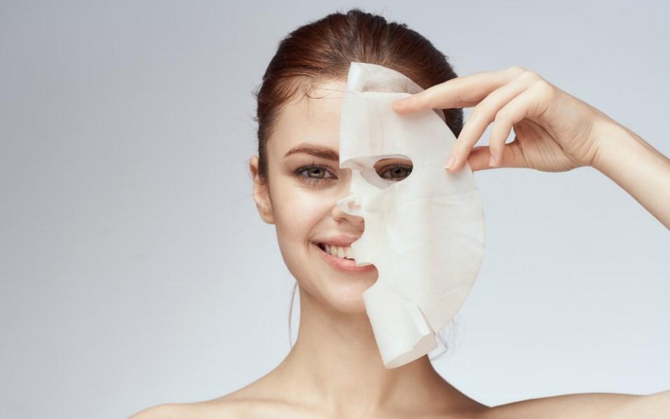 how to use apply sheet facial