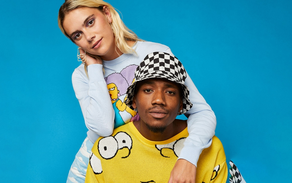 simpsons asos collection