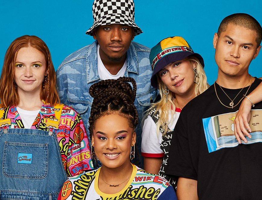 simpsons x asos collection