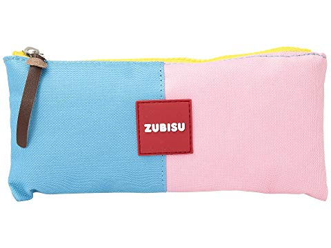 toiletry bags under $10 printed travel accessories Toobydoo ZUBISU Happy To Be Pink Pencil Case