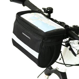 TRADERPLUS Bicycle Basket Handlebar Bag