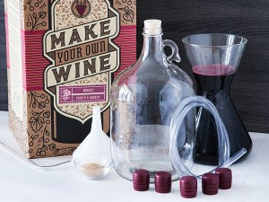 Grommet make your own wine kit craft a brew