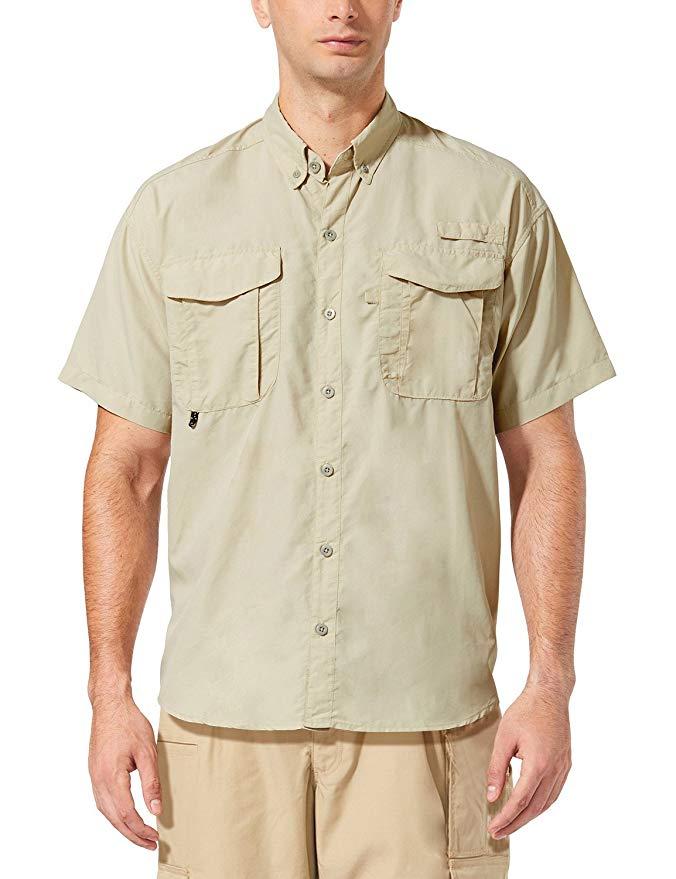 best travel shirts men women quick drying Baleaf Men's Outdoor UPF 50+ Sun Protection Short-Sleeve