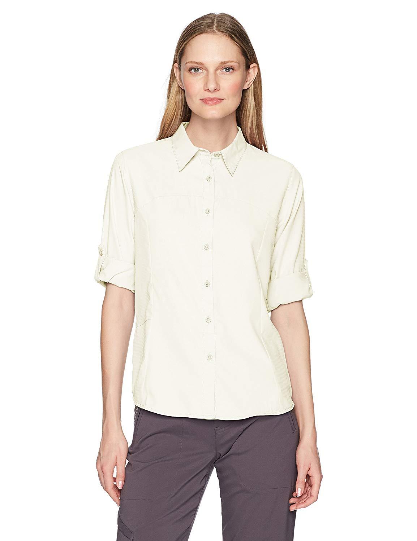 best travel shirts men women quick drying White Sierra Gobi Desert Long Sleeve