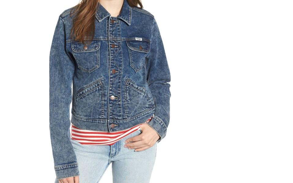 Wrangler Denim Jacket Women's Deal