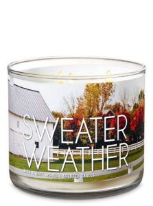 Bath and Body Works Sweater Weather