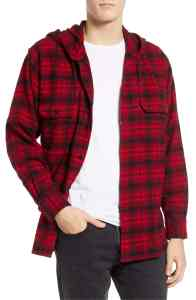 Red Flannel Shirt Men's Levi's