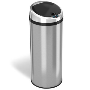 Round Trash Can Automatic