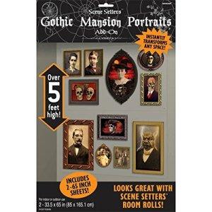 Gothic Mansion Portraits Scene Setters