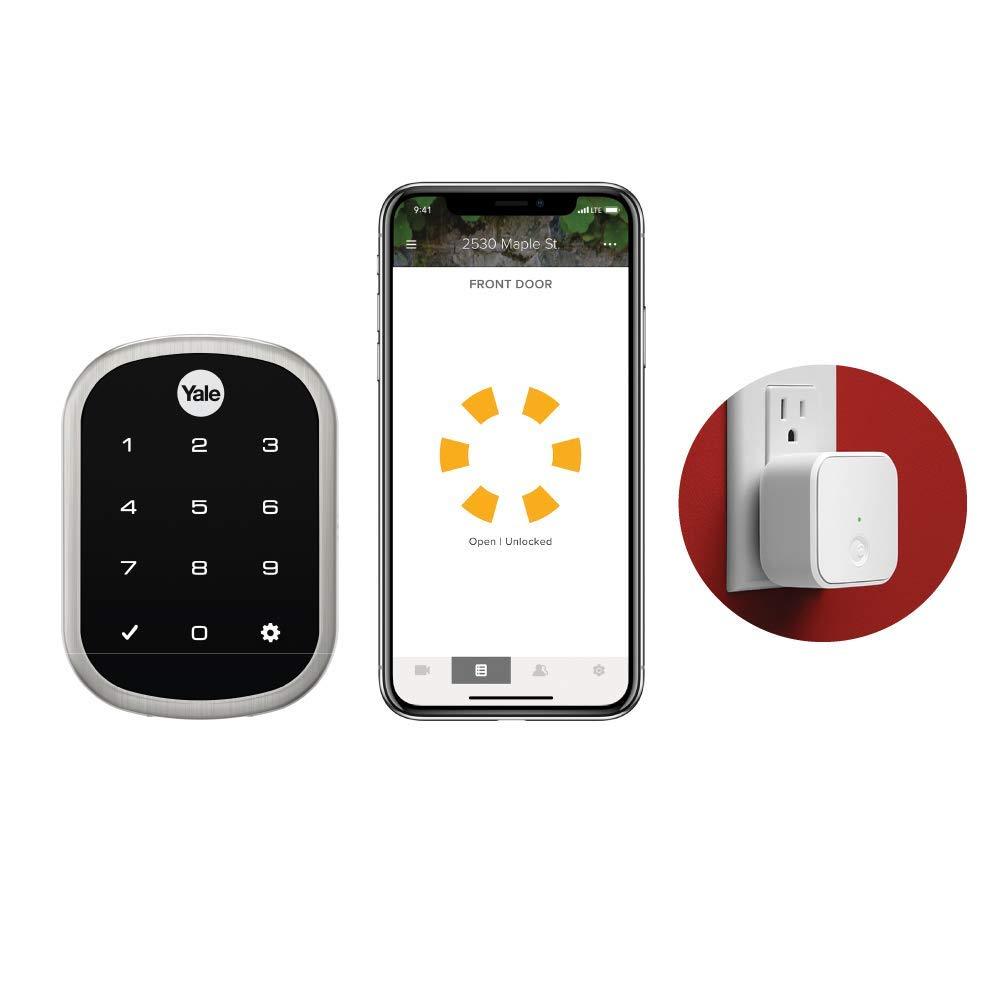 smart lock amazon yale security
