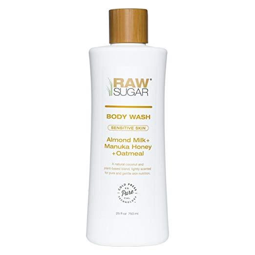 Raw Sugar Manuka Honey Natural Body Wash