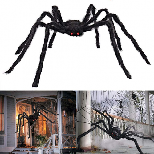 best cheap Halloween decorations - scary giant spider