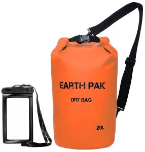 Orange Boating Dry Bag