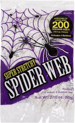 best cheap Halloween decorations - halloween spider web