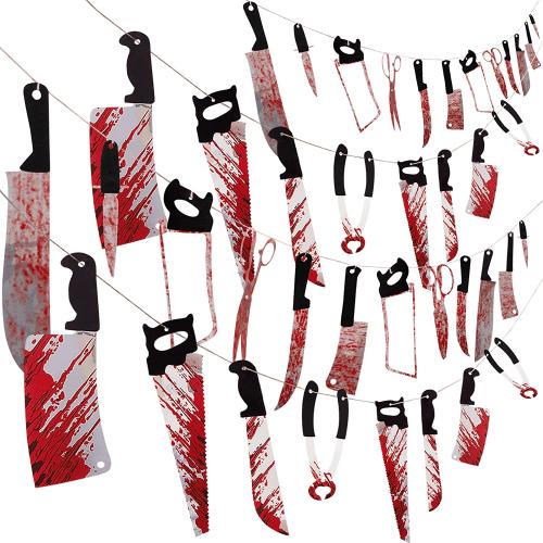 bloody garland banner