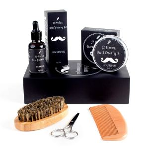 Beard Grooming Kit Comb Oil