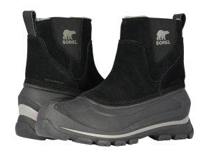 Black Winter Shoes Slip On