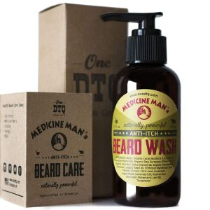 Beard Shampoo Bottle