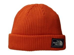 Orange Beanie North Face