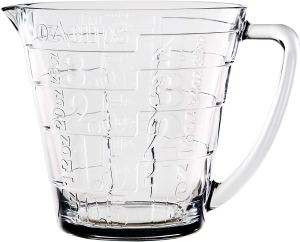 Home Essentials Glass Liquid Measuring Cup With Large Handle