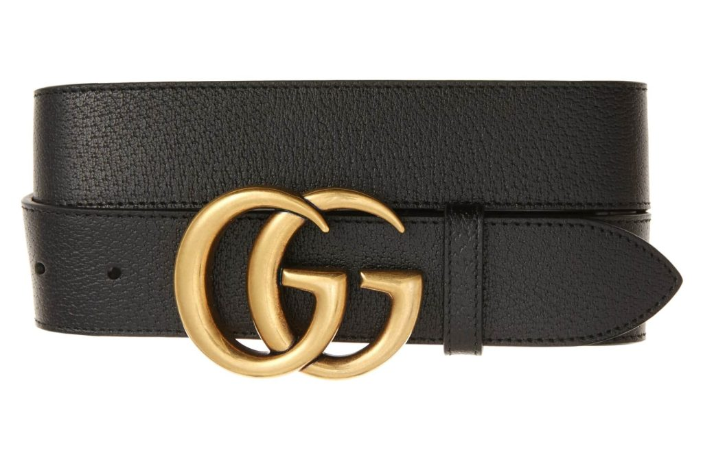 gucci logo belt marmont