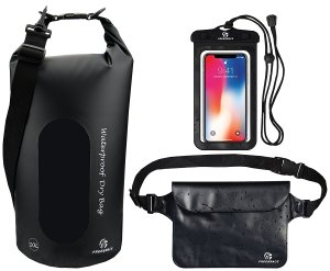 Black Dry Bag Phone Case