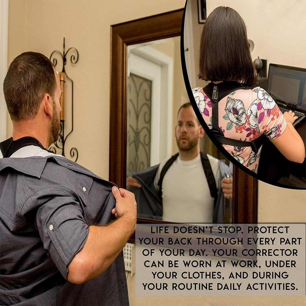 how to correct posture back brace