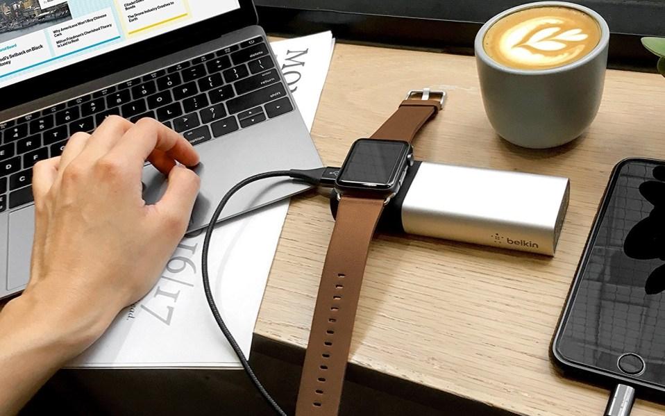 belkin apple watch charger amazon