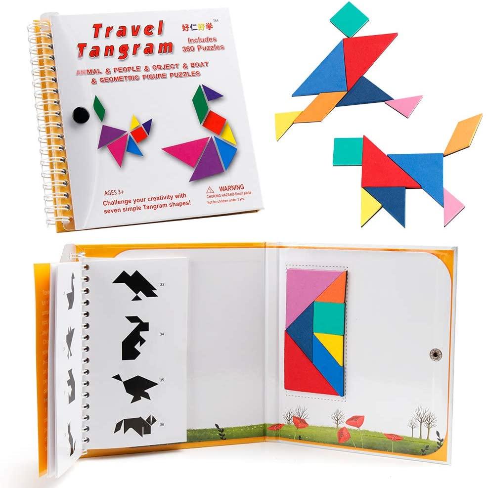 Coogam Travel Tangram Puzzle