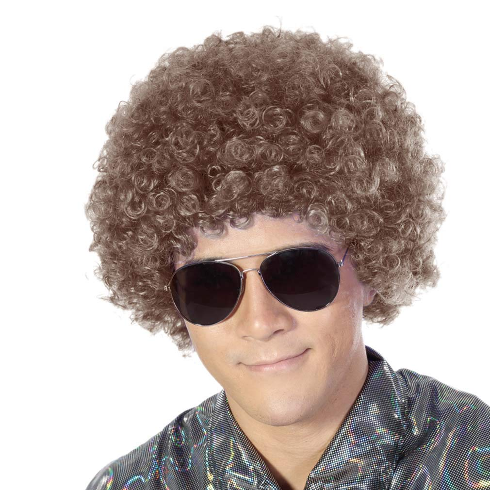 Fluffy Afro Synthetic Clown Wig for Men