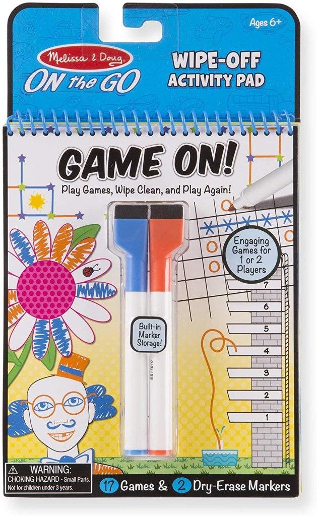 Melissa & Doug Game On! Reusable Games