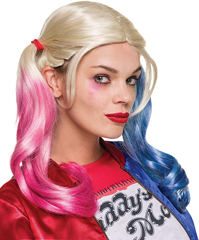 Rubie's Costume Co. Women's Suicide Squad Harley Quinn Value Wig