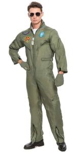 Top Gun flight suit halloween costume, work appropriate halloween costumes, adult halloween costumes