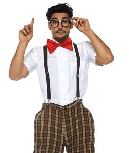 adult nerd costume, work appropriate halloween costumes