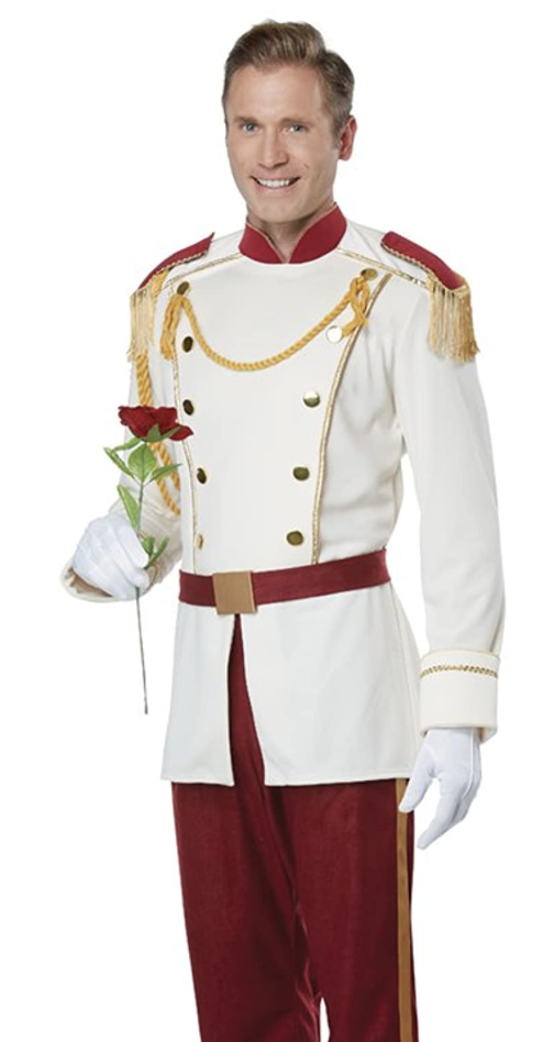 Men's royalty costume; work appropriate halloween costumes, work halloween costumes, office party, halloween party
