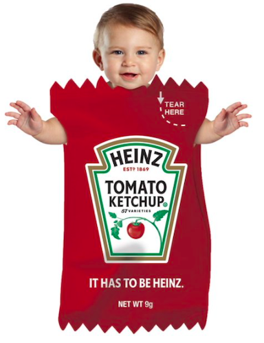 Rasta Imposta Heinz Ketchup Bunting Halloween Costume for Babies 3-9 Months
