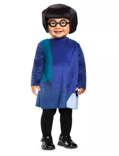 The Incredibles Edna Infant Costume, best baby halloween costumes