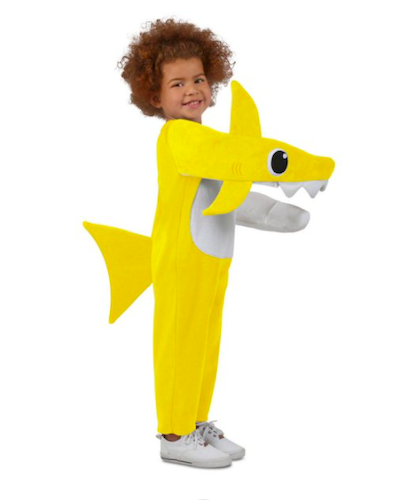 Child Chompin' Baby Shark Costume With Sound Chip, best baby halloween costumes