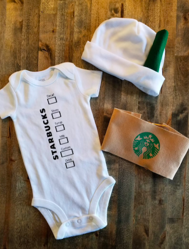TES Beams and Particles Hot Coffee Cup Costume for Baby, best baby halloween costumes