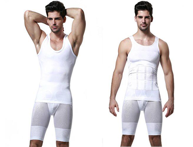 ab shaper shirt spanx for men