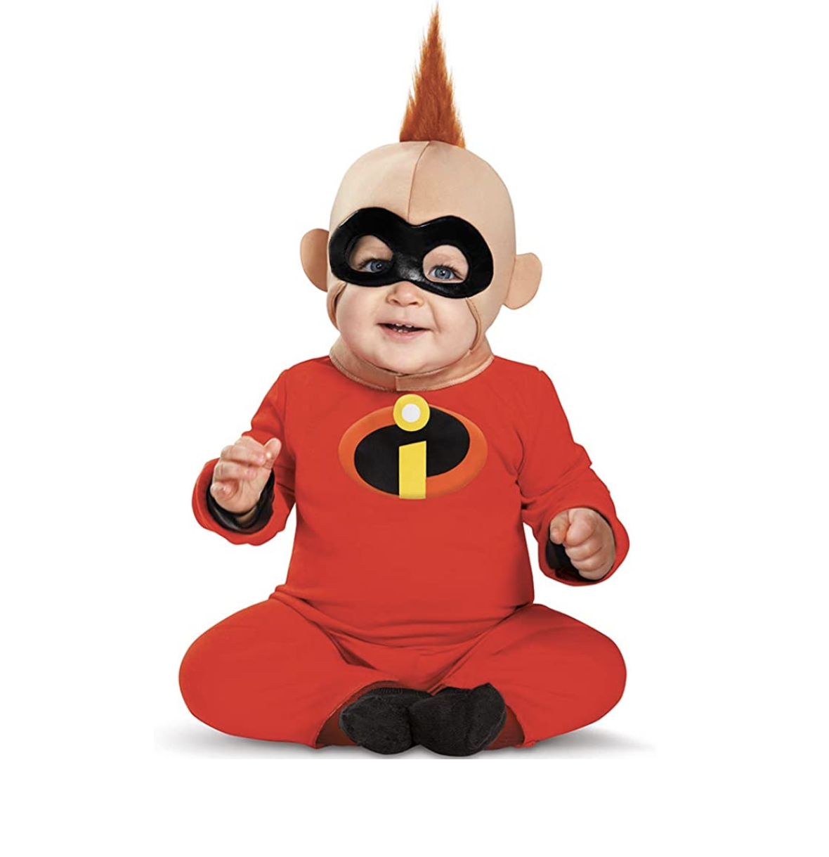 Baby in a Baby Jack Jack costume
