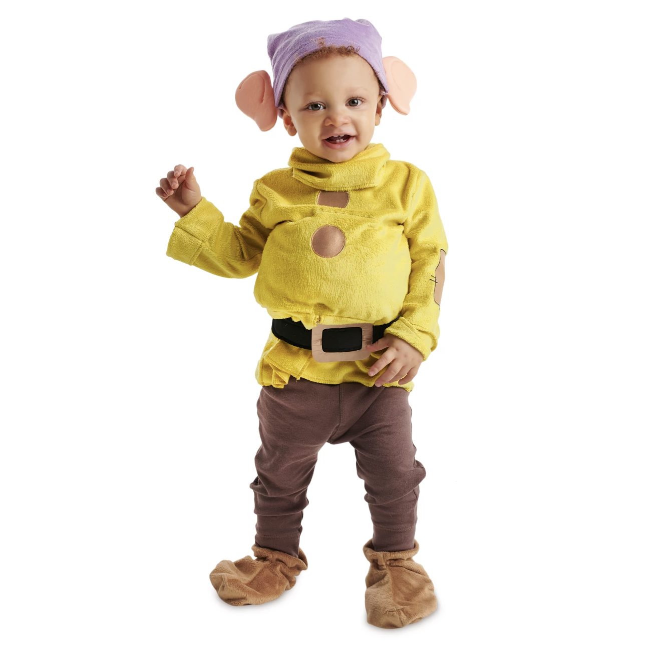 Baby in a Dopey costume, best baby halloween costumes