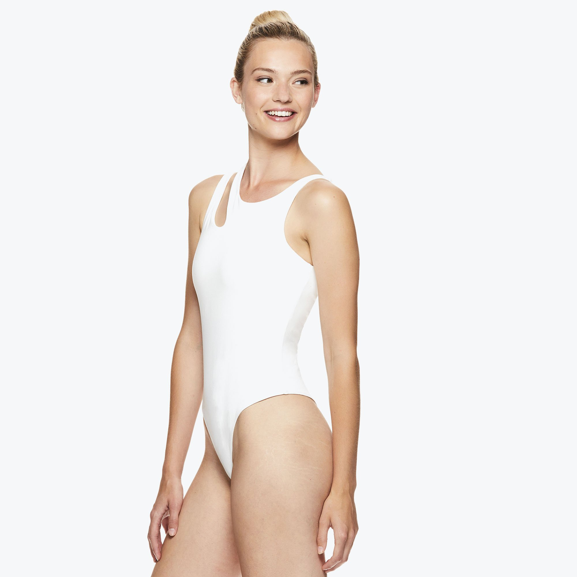 gaiam jessica biel capsule collection athleisure hudson bodysuit