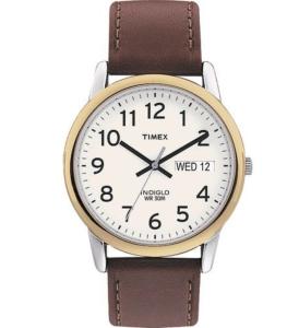 Easy Reader Beige Dial Men's Watch