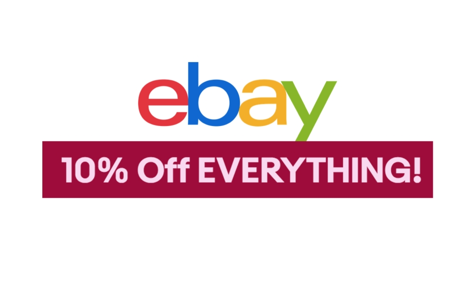 Ebay Deals: Code For 10% Off