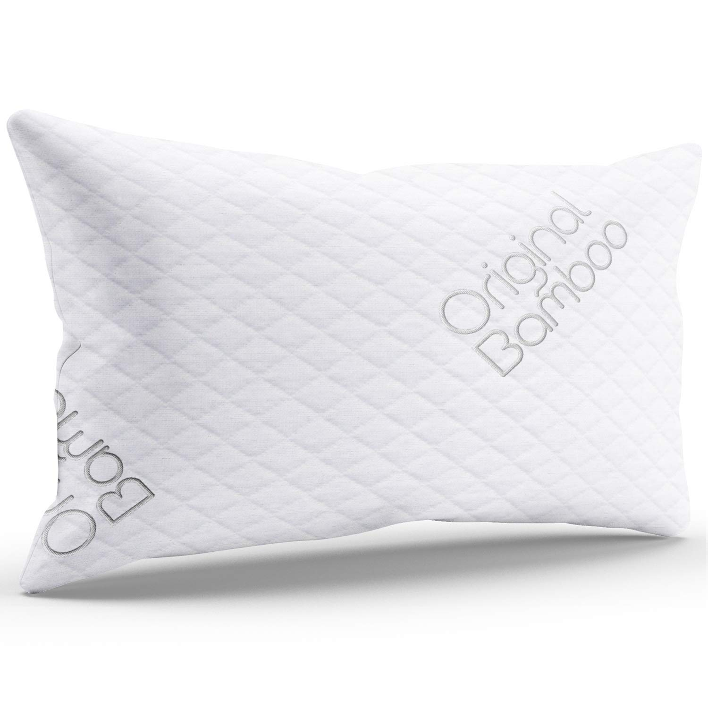 best memory foam pillows sleep Luxury PREMIUM Shredded original bamboo