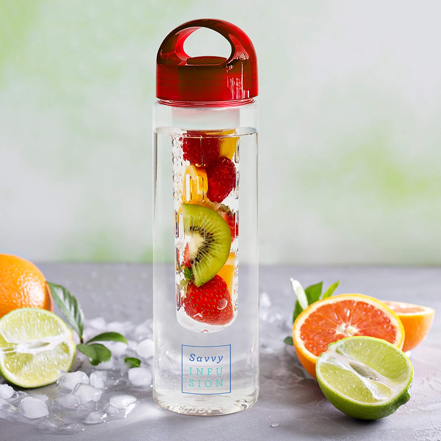 Fruit Infuser Water Bottle Savvy