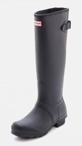 Grey Rain Boots Hunter